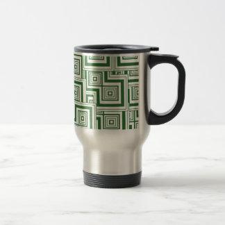 Mug De Voyage Puzzle vert