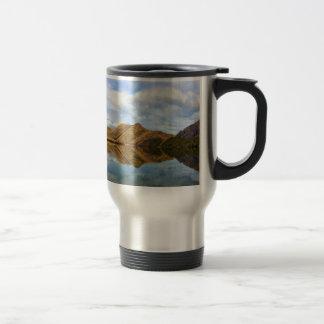 Mug De Voyage Réflexion de lac