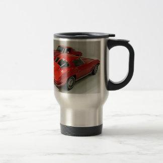 Mug De Voyage Rouge fendu Corvette de fenêtre de classique