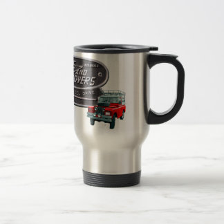 Mug De Voyage Rouge Rover d'armes à feu et de vagabonds
