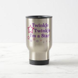 Mug De Voyage Scintillement de scintillement je suis une étoile
