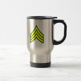 Mug De Voyage Sergent irakien de vétéran de liberté