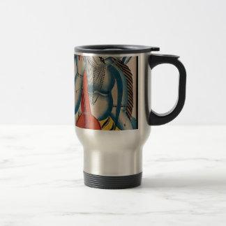 Mug De Voyage Shiva ivre tenant l'agneau