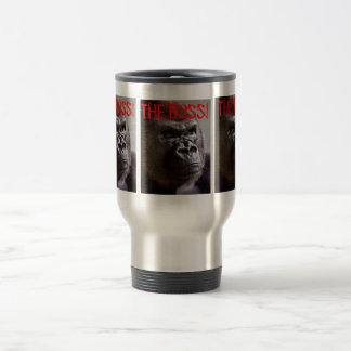 Mug De Voyage Silverback de gorille le patron