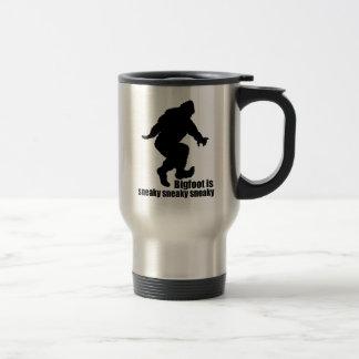Mug De Voyage Sournois sournois de Bigfoot
