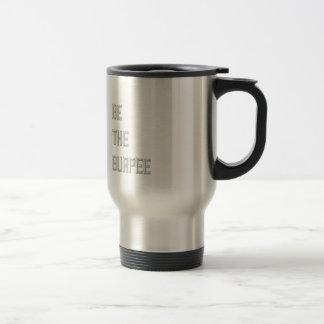 Mug De Voyage Soyez le Burpee - noir et blanc