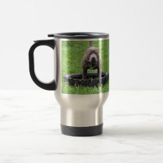Mug De Voyage Staffordshire_Bull_Terrier _Travel_Mug.