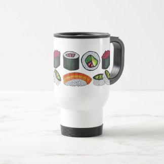Mug De Voyage Thon épicé Rolls Nigiri de nourriture japonaise