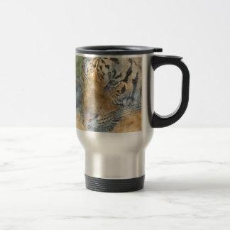 Mug De Voyage Tigre étroit dans l'aquarelle