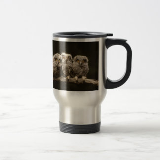 Mug De Voyage Trois poussins de hibou
