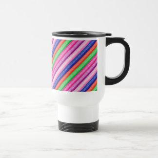 Mug De Voyage UNE bande de couleur FOLLE