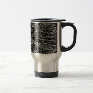 Mug De Voyage Une photo monochrome d'herbe