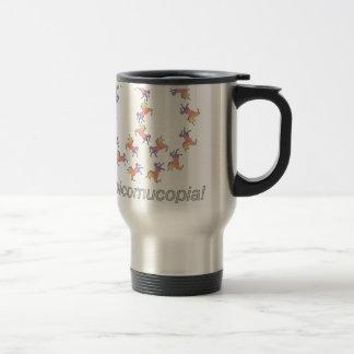 Mug De Voyage #Unicornucopia ! Paix de licorne