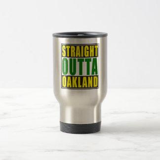 Mug De Voyage Vert droit d'Outta Oakland