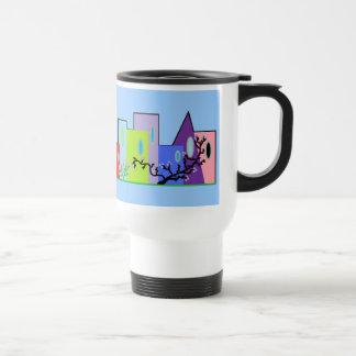Mug De Voyage Ville de couleurs