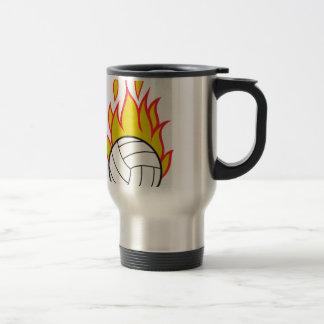 Mug De Voyage Volleyball flamboyant