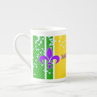 Mug | décoré d'un monogramme Fleur de Lis French