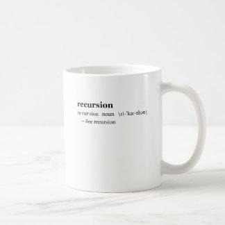 Mug Définition de récursion