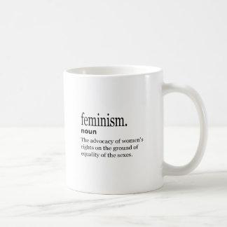 Mug définition du féminisme