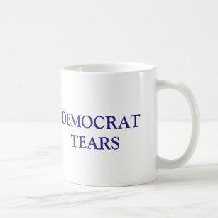 Mug Démocrate drôle déchire le républicain