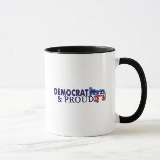 Mug Démocrate et fier