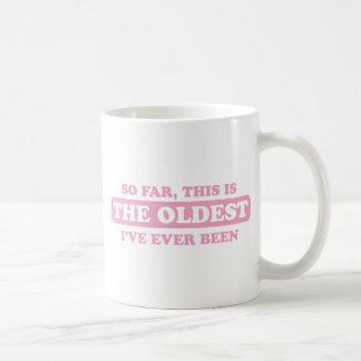 Mug dentelez jusqu'ici, ceci est le plus vieux que