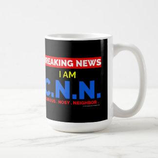 Mug Dernières nouvelles : Je suis le voisin fouineur