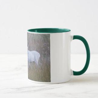 Mug Des cerfs communs blancs plus doux 1