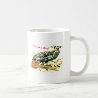 Mug Dessin de faisan libre comme oiseau