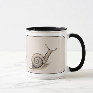 Mug Dessin en pastel original de zen d'escargot