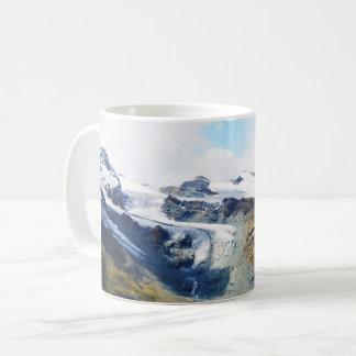Mug Dessus de montagne dans les alpes