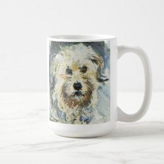 Mug Détail de chien de la peinture de Claude Monet