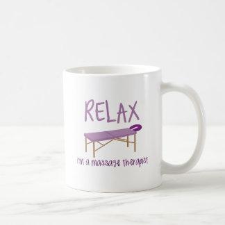 Mug Détendez le Tableau de massage