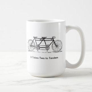 Mug Deux au tandem