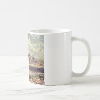 Mug Dieppe, bassin de Dunquesne, effet de lumière du