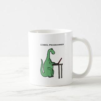 Mug Dinosaure drôle de programmeur de COBOL