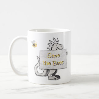Mug Dinosaure mignon avec des économies le signe