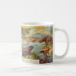 Mug dinosaures 1895 de liebig