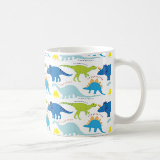 Mug Dinosuar conçoit des cadeaux de Dino de motif de