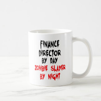 Mug Directeur de finances de tueur de zombi