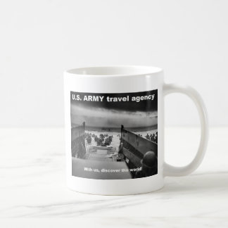 Mug discover the world with army