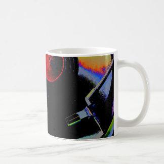 Mug Disque vinyle en couleurs