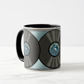Mug Disque vinyle vintage