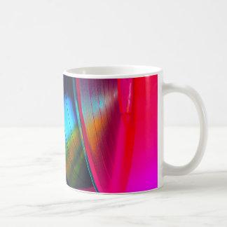Mug Disques vinyle magenta
