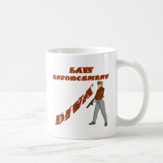 Mug Diva d'autorité de loi