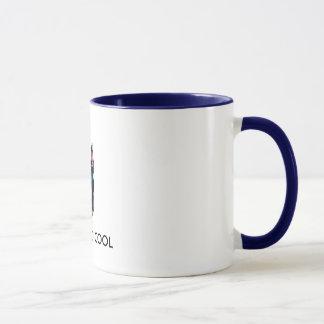Mug Dobermann frais, JUSTE TROP FRAIS