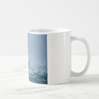 Mug Domestique de la fin de brume vers le haut des