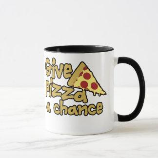Mug Donnez à pizza une occasion