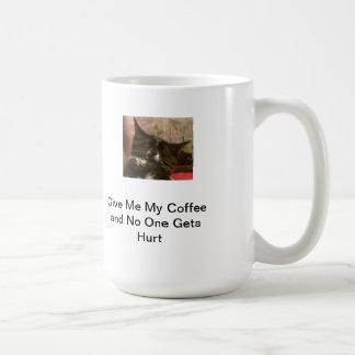 Mug Donnez-moi mon café…