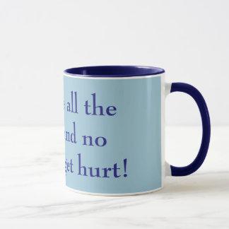 Mug Donnez-moi tout le café et personne obtiendra le